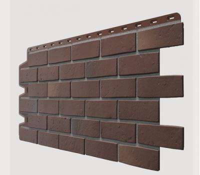 Фасадные панели (цокольный сайдинг) , Berg (кирпич), Braunberg Коричневый от производителя Docke по цене 435.00 р