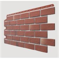 Фасадные панели (цокольный сайдинг) , Berg (кирпич), Рубиновый