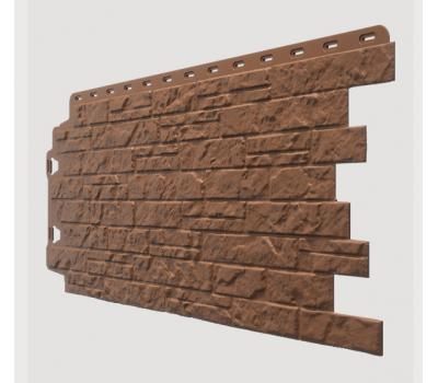 Фасадные панели (цокольный сайдинг) , Edel (каменная кладка), Родонит от производителя Docke по цене 350.00 р