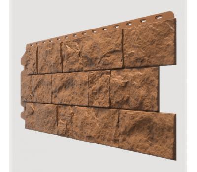 Фасадные панели (цокольный сайдинг) , Fels (скала), Terrafels Терракотовый от производителя Docke по цене 470.00 р