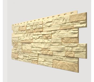 Фасадные панели (цокольный сайдинг) , Stein (песчаник), Bernstein Янтарный от производителя Docke по цене 495.00 р