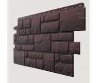 Фасадные панели (цокольный сайдинг) , Burg (камень), Schwarzburg Тёмный