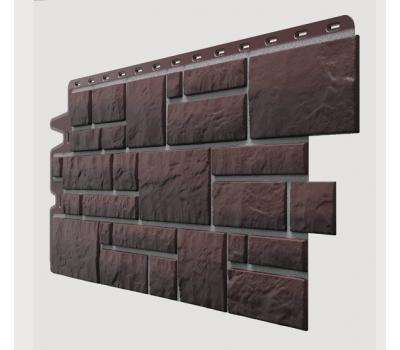 Фасадные панели (цокольный сайдинг) , Burg (камень), Erdburg Земляной от производителя Docke по цене 571.00 р