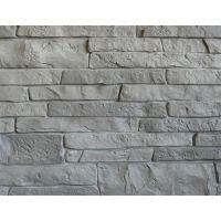 Цокольный сайдинг Stacked-Stone (Природный камень) GRANITE GREY (Серый сланец)