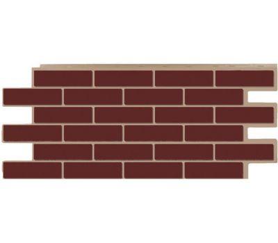 Фасадные панели (цокольный сайдинг) коллекция кирпич Модерн - Коричневый от производителя Т-сайдинг по цене 534.00 р
