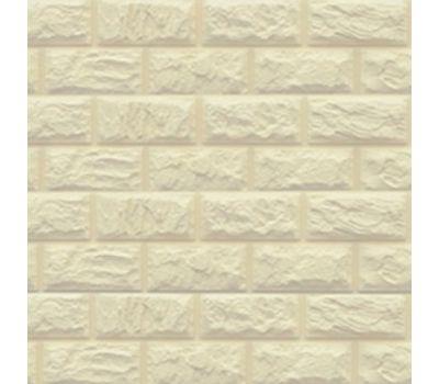 Цокольный сайдинг коллекция Альпийский камень 2-х метровый - Слоновая кость от производителя Доломит по цене 495.00 р