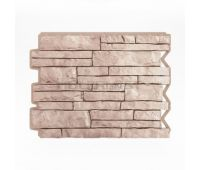 Фасадные панели (цокольный сайдинг) Парфир Beige / Бежевый