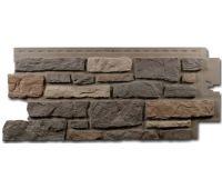 Цокольный сайдинг Creek Ledgestone (Бутовый камень) Bucks County Gray