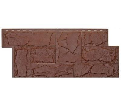 Фасадные панели (цокольный сайдинг) коллекция Гранит Леон - Браун от производителя Т-сайдинг по цене 514.00 р