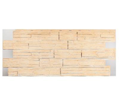 Фасадные панели (цокольный сайдинг) коллекция Альпийская Сказка - Саяны от производителя Т-сайдинг по цене 554.00 р