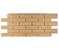 Фасадные панели (цокольный сайдинг) коллекция Лондон Брик Кирпич - Бежевый