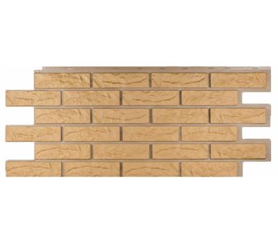 Фасадные панели (цокольный сайдинг) коллекция Лондон Брик Кирпич - Бежевый от производителя Т-сайдинг по цене 534.00 р