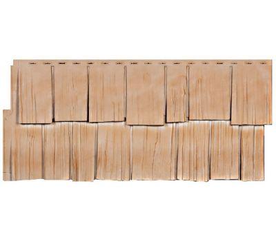 Фасадные панели (цокольный сайдинг) коллекция Щепа Дуб - Саяны от производителя Т-сайдинг по цене 424.00 р