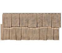Фасадные панели (цокольный сайдинг) коллекция Щепа Дуб - Урал