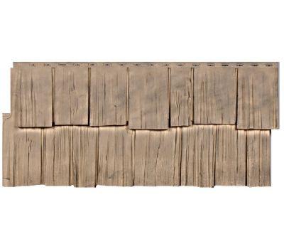 Фасадные панели (цокольный сайдинг) коллекция Щепа Дуб - Урал от производителя Т-сайдинг по цене 424.00 р