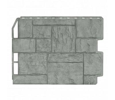 Фасадные панели (цокольный сайдинг) Туф Серый Жемчуг от производителя Holzplast по цене 405.00 р