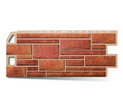 Фасадные панели (цокольный сайдинг) КОЛЛЕКЦИЯ «КАМЕНЬ» Бежевый от производителя Альта-профиль по цене 640.00 р