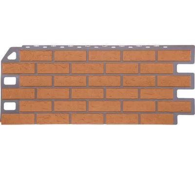 Фасадные панели (цокольный сайдинг) коллекция Кирпич - Бежевый от производителя Fineber по цене 623.00 р