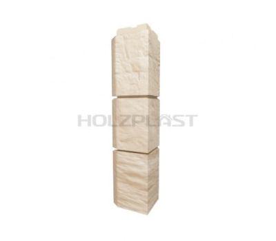 Внешний Угол для коллекции Туф Светло-бежевый от производителя Holzplast по цене 420.00 р