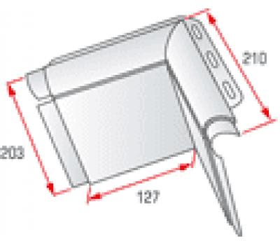 Угловой элемент откоса от производителя Альта-профиль по цене 190.00 р