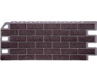 Фасадные панели (цокольный сайдинг) коллекция Кирпич - Жженый