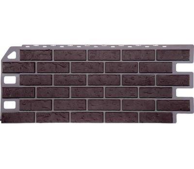 Фасадные панели (цокольный сайдинг) коллекция Кирпич - Жженый от производителя Fineber по цене 415.00 р