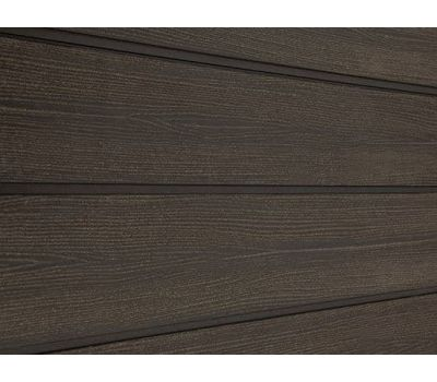 Фасадная доска ДПК SORBUS Темно-Коричневая Радиальная от производителя Savewood по цене 230.00 р
