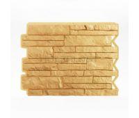 Фасадные панели (цокольный сайдинг) Парфир Sandgelb / Песочный