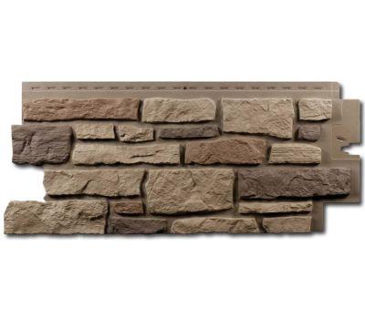Цокольный сайдинг Creek Ledgestone (Бутовый камень) Rocky Mountain Clay от производителя NAILITE по цене 1 460.00 р