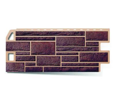 Фасадные панели (цокольный сайдинг) КОЛЛЕКЦИЯ «КАМЕНЬ» Жженый от производителя Альта-профиль по цене 439.00 р