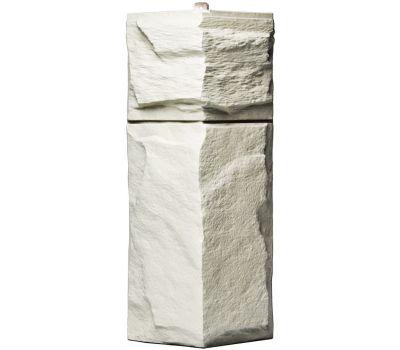Угол Гранит Леон - Белый от производителя Т-сайдинг по цене 340.00 р
