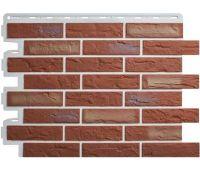 Фасадные панели (цокольный сайдинг) КОЛЛЕКЦИЯ «КИРПИЧ РИЖСКИЙ» - 02