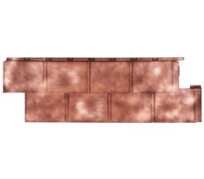 Фасадные панели (цокольный сайдинг) коллекция Галактика - Медь от производителя Т-сайдинг по цене 425.00 р