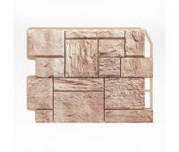 Фасадные панели (цокольный сайдинг) Туф Бежевый