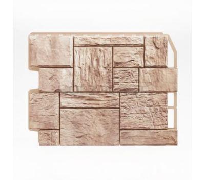 Фасадные панели (цокольный сайдинг) Туф Бежевый от производителя Holzplast по цене 425.00 р