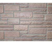 Цокольный сайдинг Hand-Cut Stone (Дворцовый Камень) DESERT BUFF (Бежевый камень)