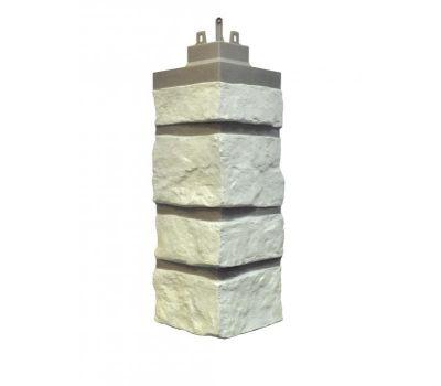 Внешний угол Creek Ledgestone (Бутовый камень) Ivory White от производителя NAILITE по цене 770.00 р