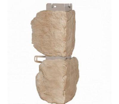 Угол наружный КОЛЛЕКЦИЯ «БУТОВЫЙ КАМЕНЬ» Нормандский от производителя Альта-профиль по цене 390.00 р