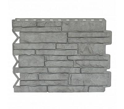 Фасадные панели (цокольный сайдинг) Парфир Серый Жемчуг от производителя Holzplast по цене 405.00 р