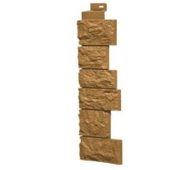 Угол наружный коллекция Дикий камень Песочный от производителя Fineber по цене 430.00 р