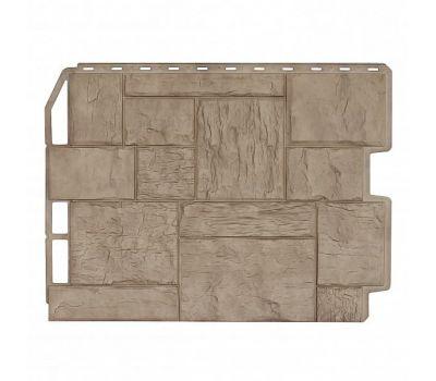 Фасадные панели (цокольный сайдинг) Туф Золотой Песок от производителя Holzplast по цене 405.00 р