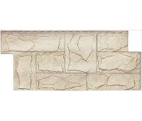 Фасадные панели (цокольный сайдинг) коллекция Гранит Леон - Саяны