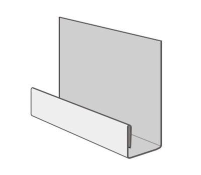 Стартовая планка металлическая (длина 2м) для цокольного сайдинга от производителя NORDSIDE по цене 275.00 р