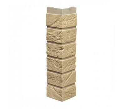 Цокольный сайдинг коллекция Кирпич - Угол наружный все цвета от производителя Tecos по цене 400.00 р