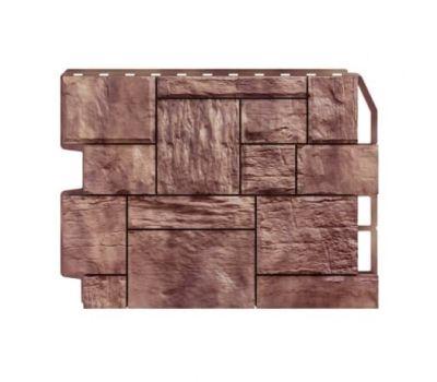 Фасадные панели (цокольный сайдинг) Туф коричневый от производителя Holzplast по цене 425.00 р