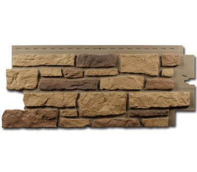 Цокольный сайдинг Creek Ledgestone (Бутовый камень) Arizona Sandstone от производителя NAILITE по цене 1 460.00 р