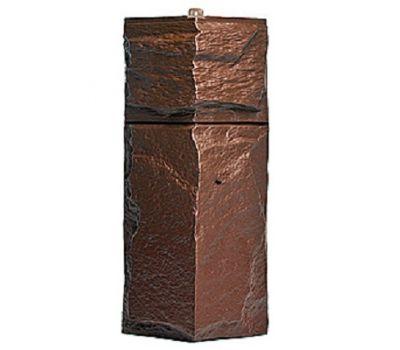 Угол Гранит Леон - Коричневый от производителя Т-сайдинг по цене 340.00 р