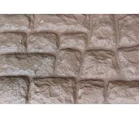 Фасадные панели Камень крупный Бежевый