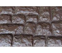 Фасадные панели Камень крупный Коричневый