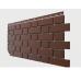 Фасадные панели Flemish (гладкий кирпич) Коричневый от производителя Docke по цене 364.00 р